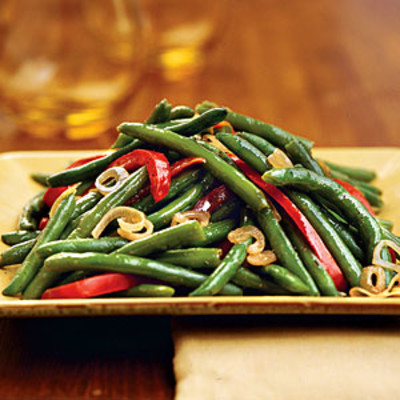 Thanksgiving Dinner Side Dishes Green Beans With Shallots