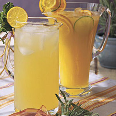 Punch and cocktail summer drink recipes cool lavender for Refreshing drink recipes non alcoholic