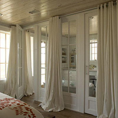 Bedroom window treatments long drapery bedroom window for Bedroom window styles