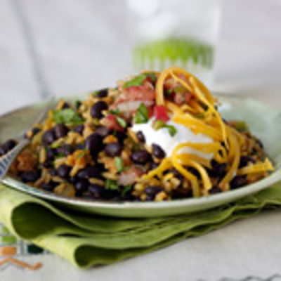 Speedy Black Beans and Mexican Rice - 8 Quick and Easy Rice Dinner ...