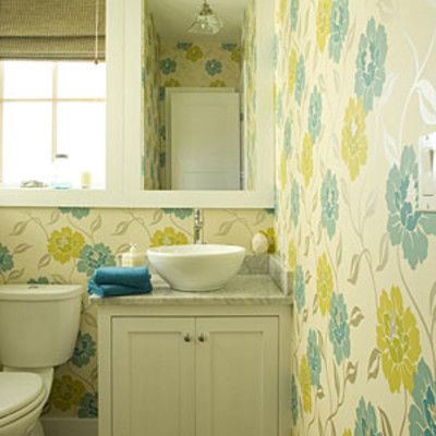 guest bathroom decorating ideas add privacy with window treatments