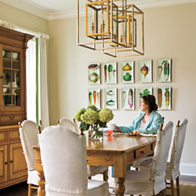 Dining Room Decorating Ideas Hang Plates As Art Stylish