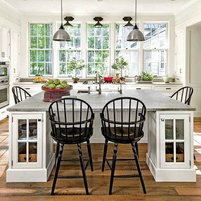 Kitchen 2015 idea house photo tour southern living for Southern kitchen design