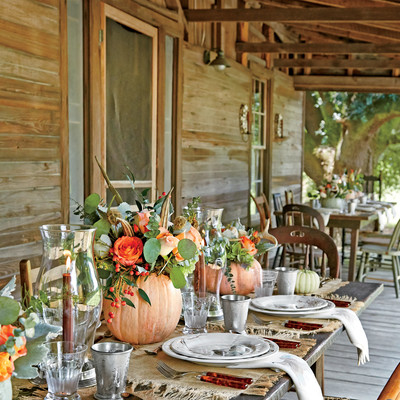 The Location Thanksgiving At The Farm Southern Living