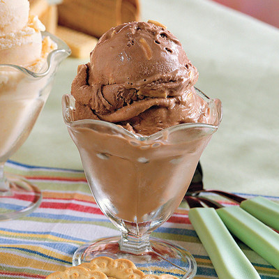 No-Cook Chocolate-Almond Ice Cream