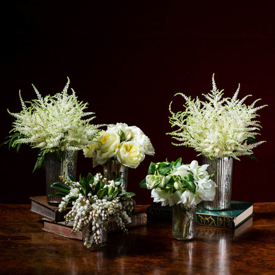New Year 39 S Eve Winter White Step By Step Holiday Flower Arrangements