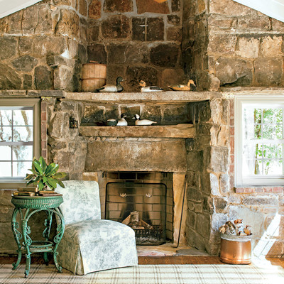 the living room tennessee mountain cottage southern living