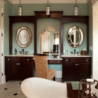 master bathroom decorating & design: include a place to