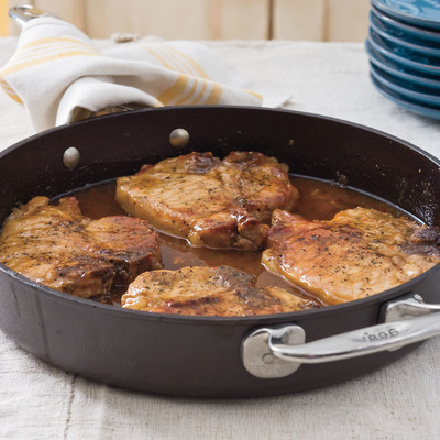 Cast Iron Skillet Recipes Pork Chops With Pepper Jelly