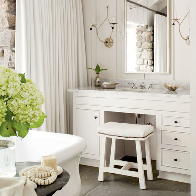 Vanity Nature Inspired Lake House Southern Living