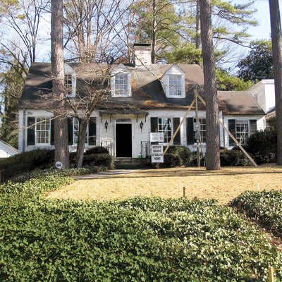 Exterior before cape cod cottage style decorating for Southern living cape cod house plans