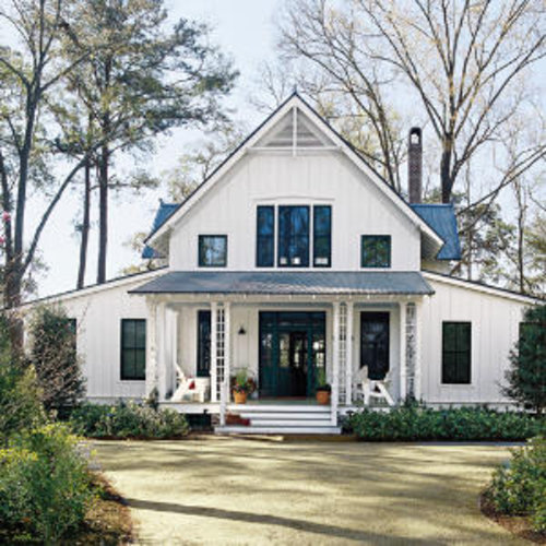 Cottage style southern living for Cottage style house