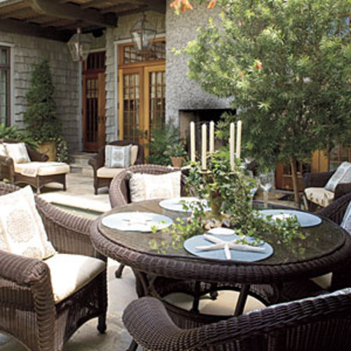 A Waterfront Courtyard Southern Living