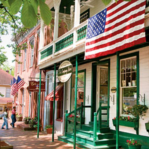 dahlonega georgia small town escape southern living