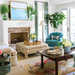 Coastal Lowcountry Living Room