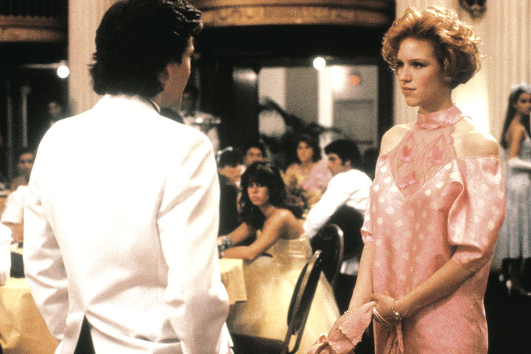 Someone Help Molly Ringwald Find Her Pretty in Pink Prom Dress