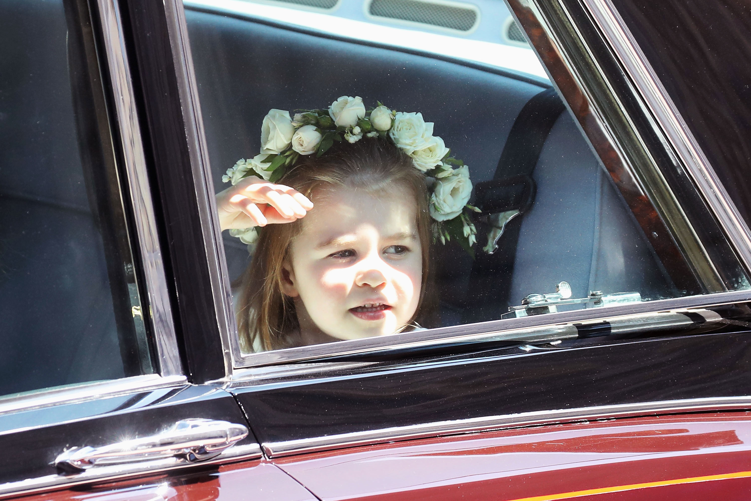 Every Picture of Prince George and Princess Charlotte at Prince Harry and Meghan Markle's Wedding