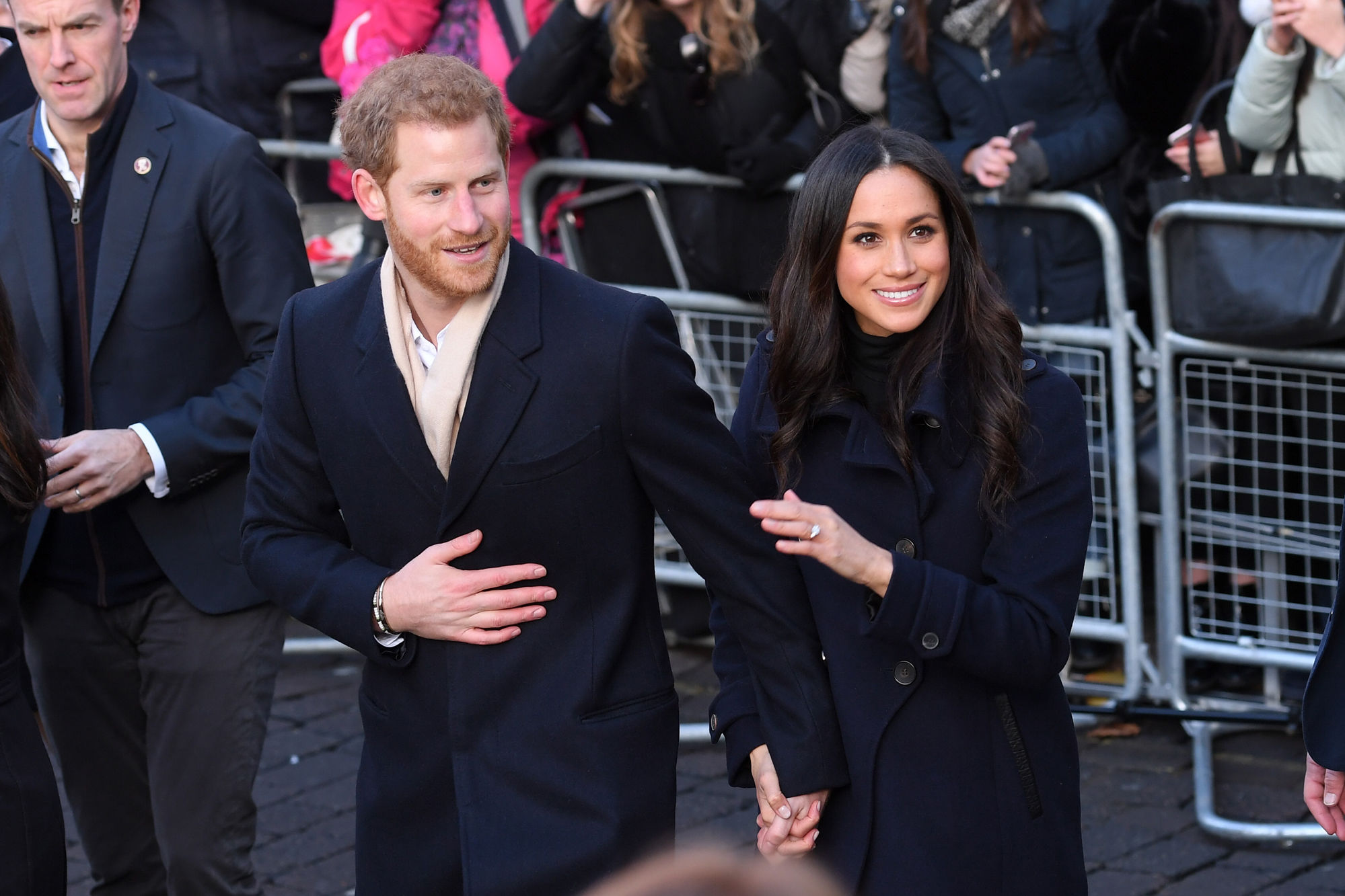 Prince Harry and Meghan Markle Make Their First Royal Appearance in Nottingham