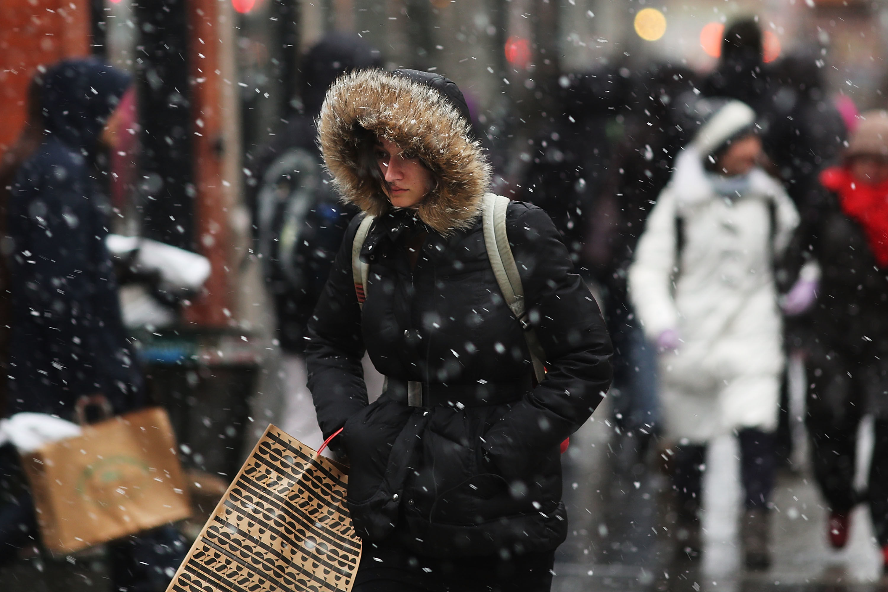 Nasty Winter Weather Could Hit the South This Week
