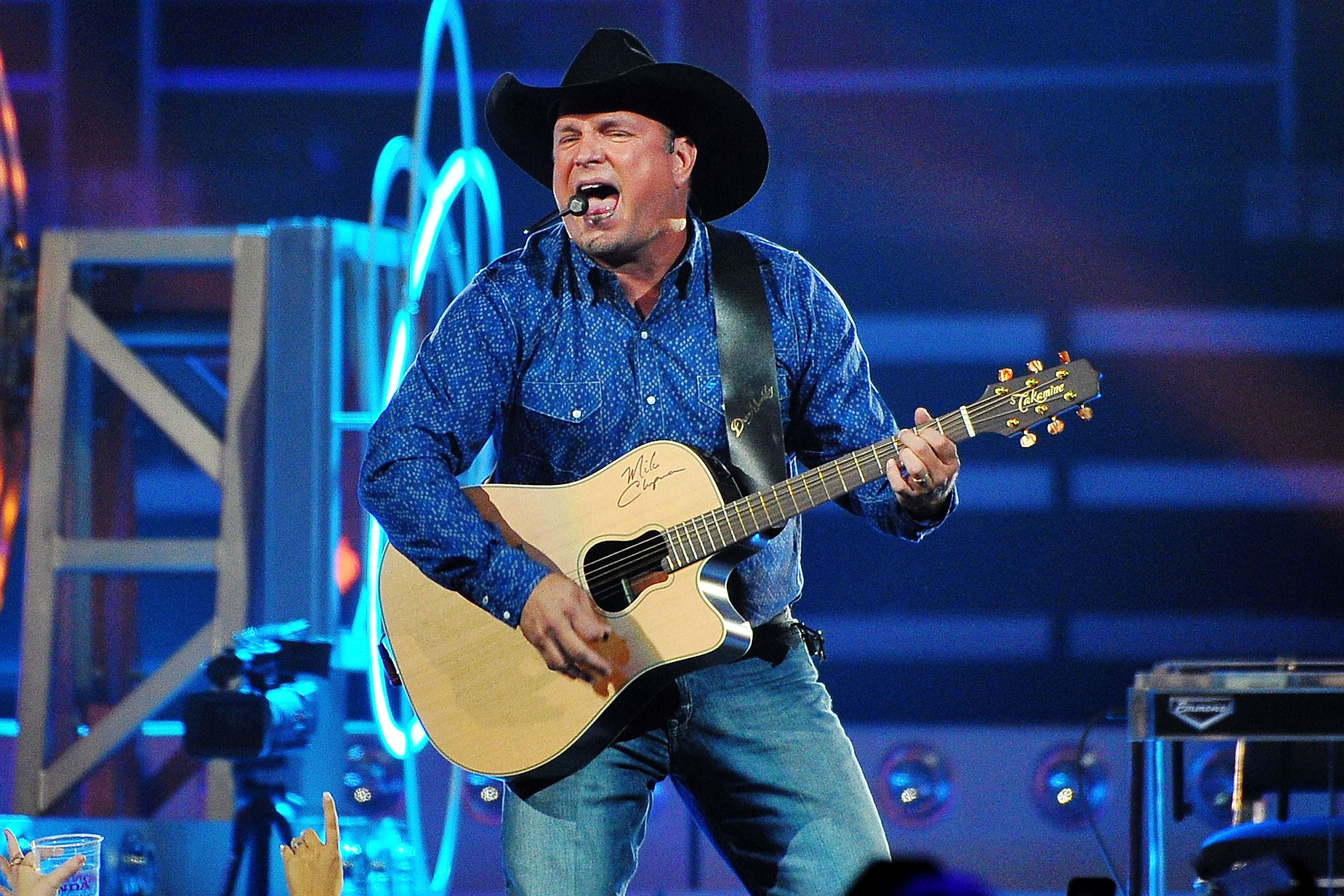 Garth Books' Massive World Tour Is Headed to Texas