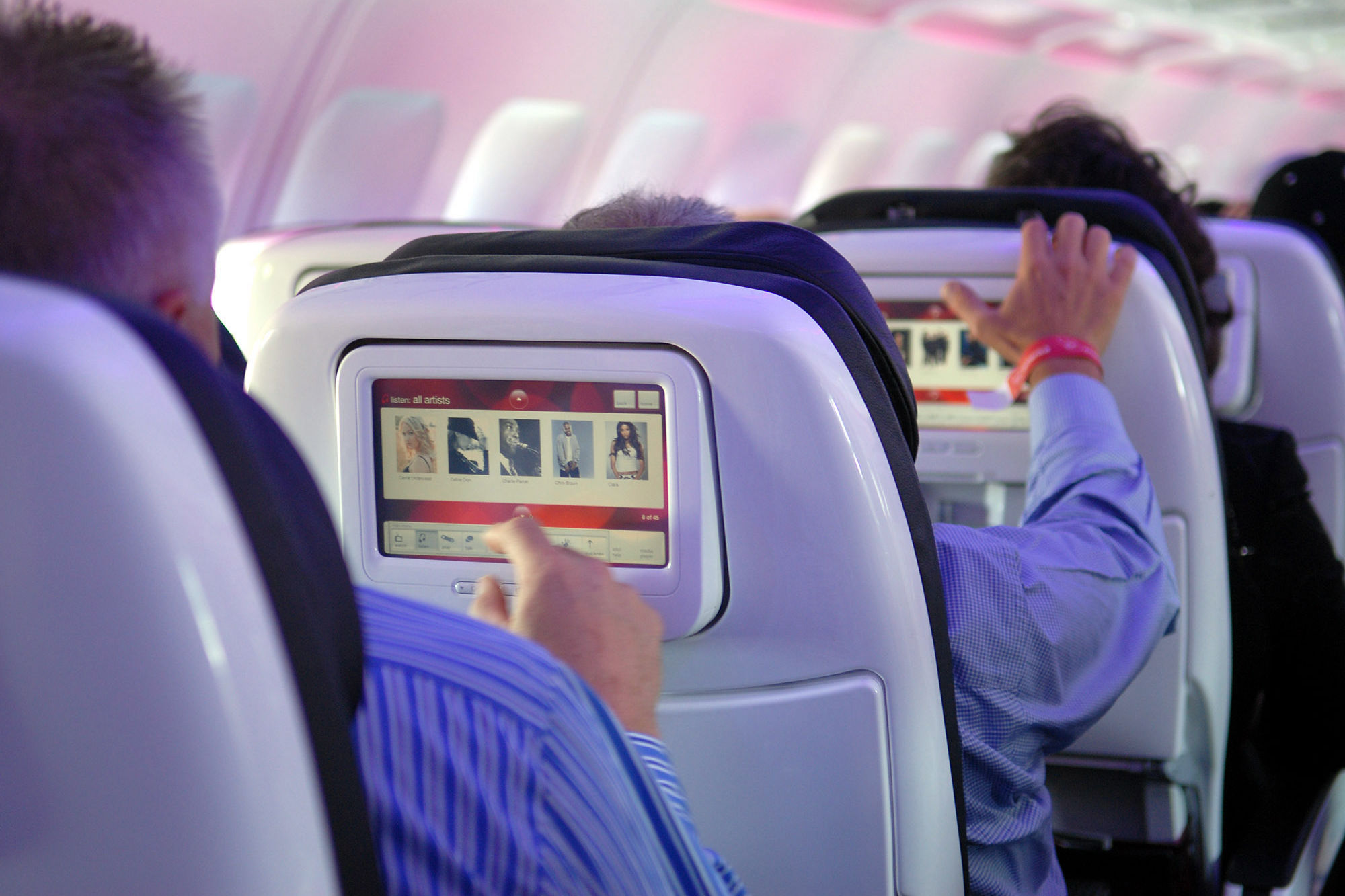 This Airline Is Cutting Down On Seat-Back TVs