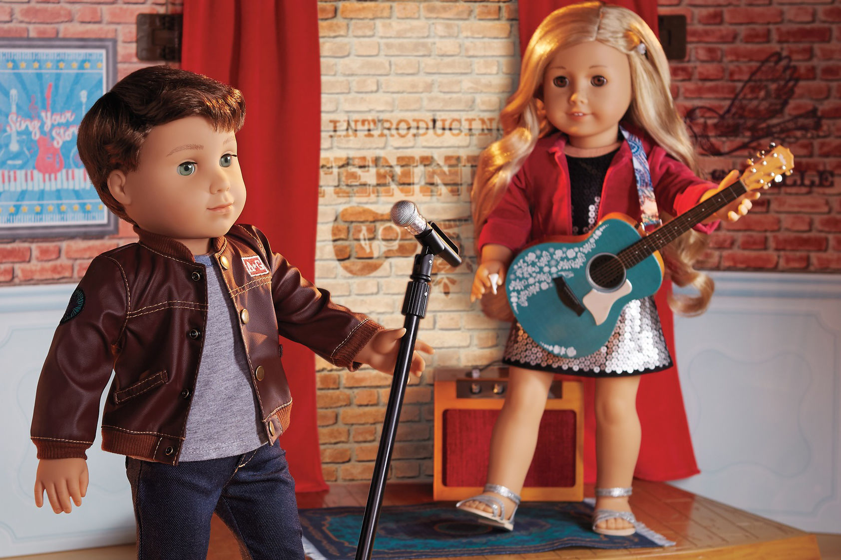 American Girl's First Boy Doll Is a Drummer Named Logan