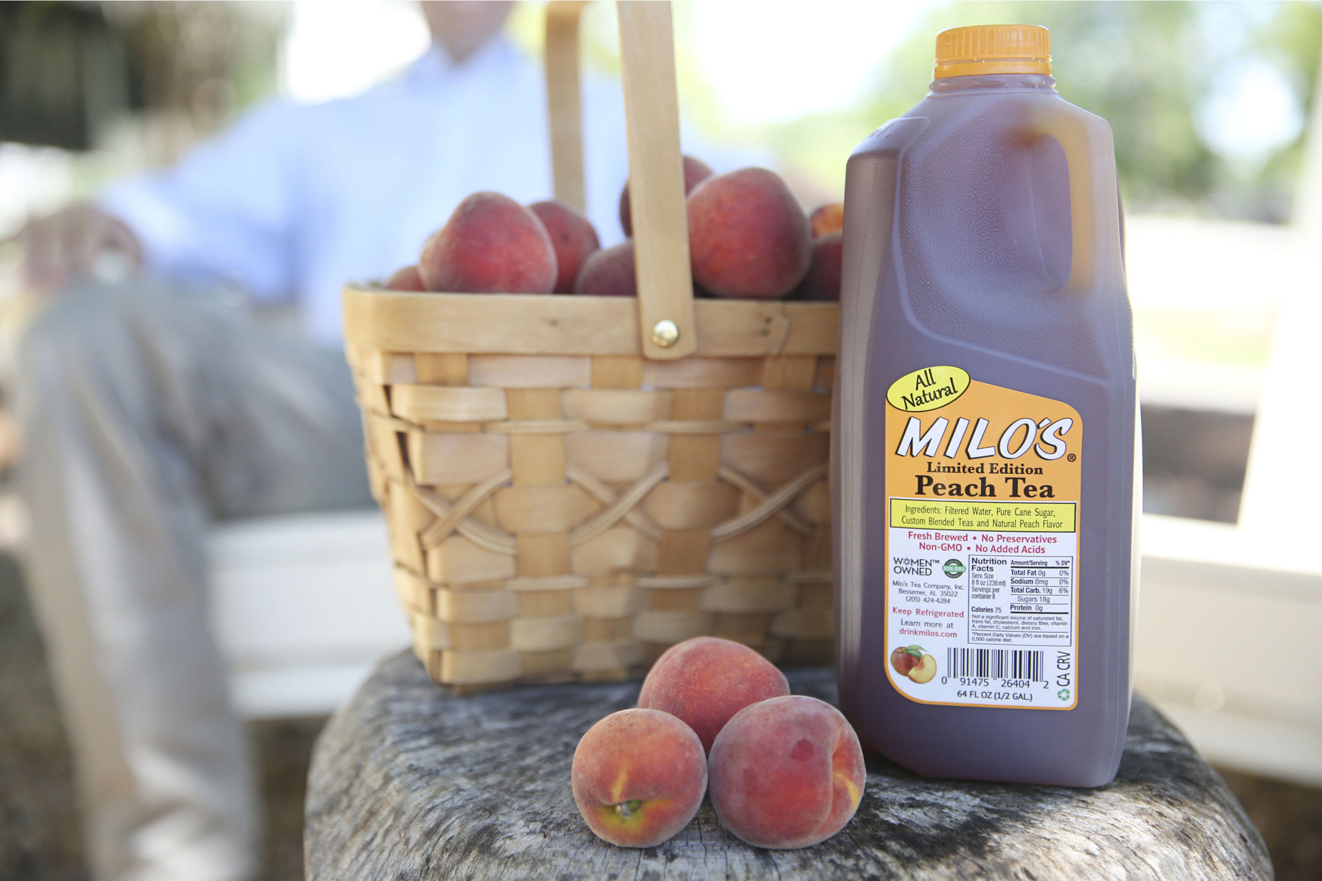 Cool Off This Summer with Milo's New Peach Iced Tea