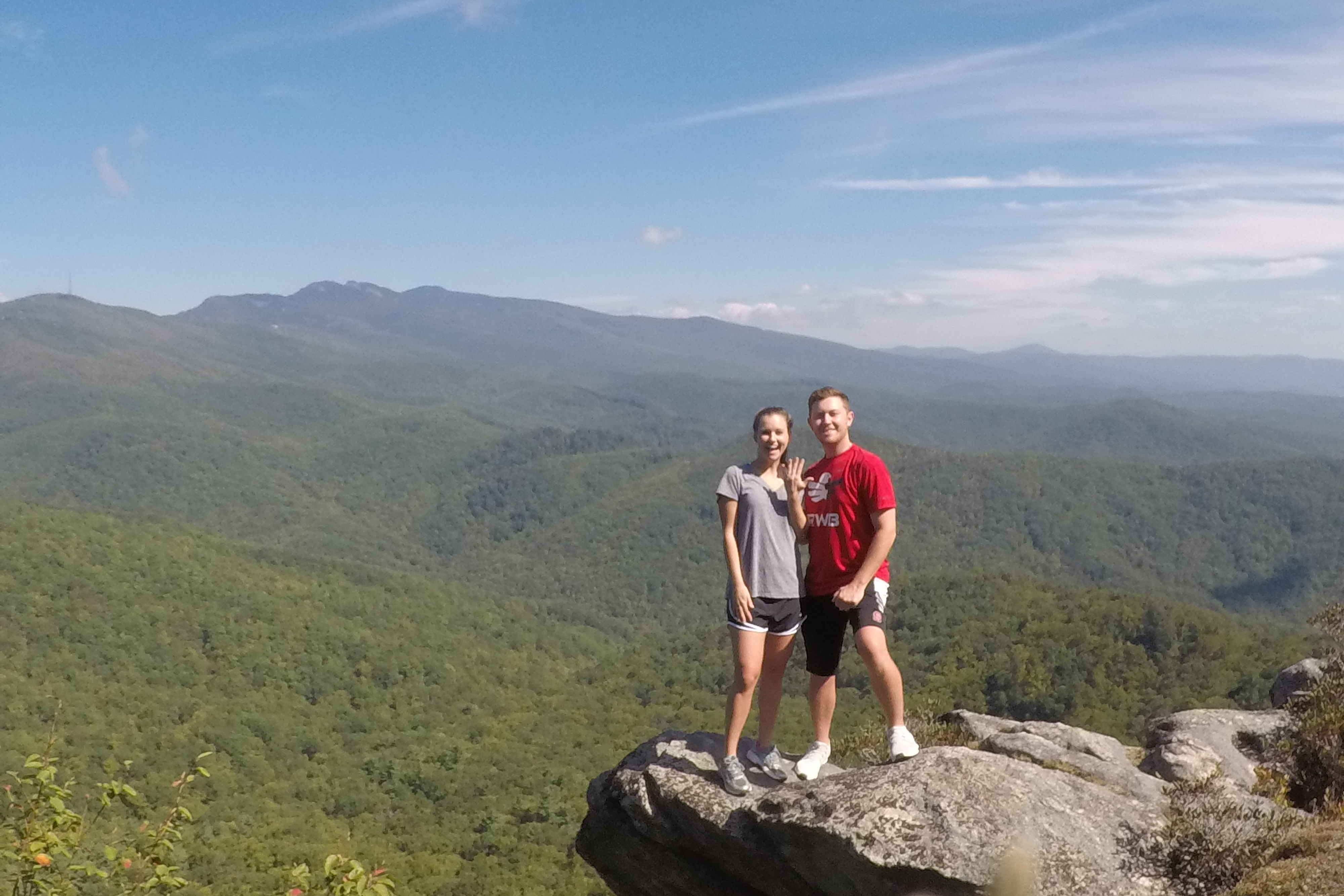 WATCH: American Idol Star Scotty McCreery Pops the Question Hiking in North Carolina