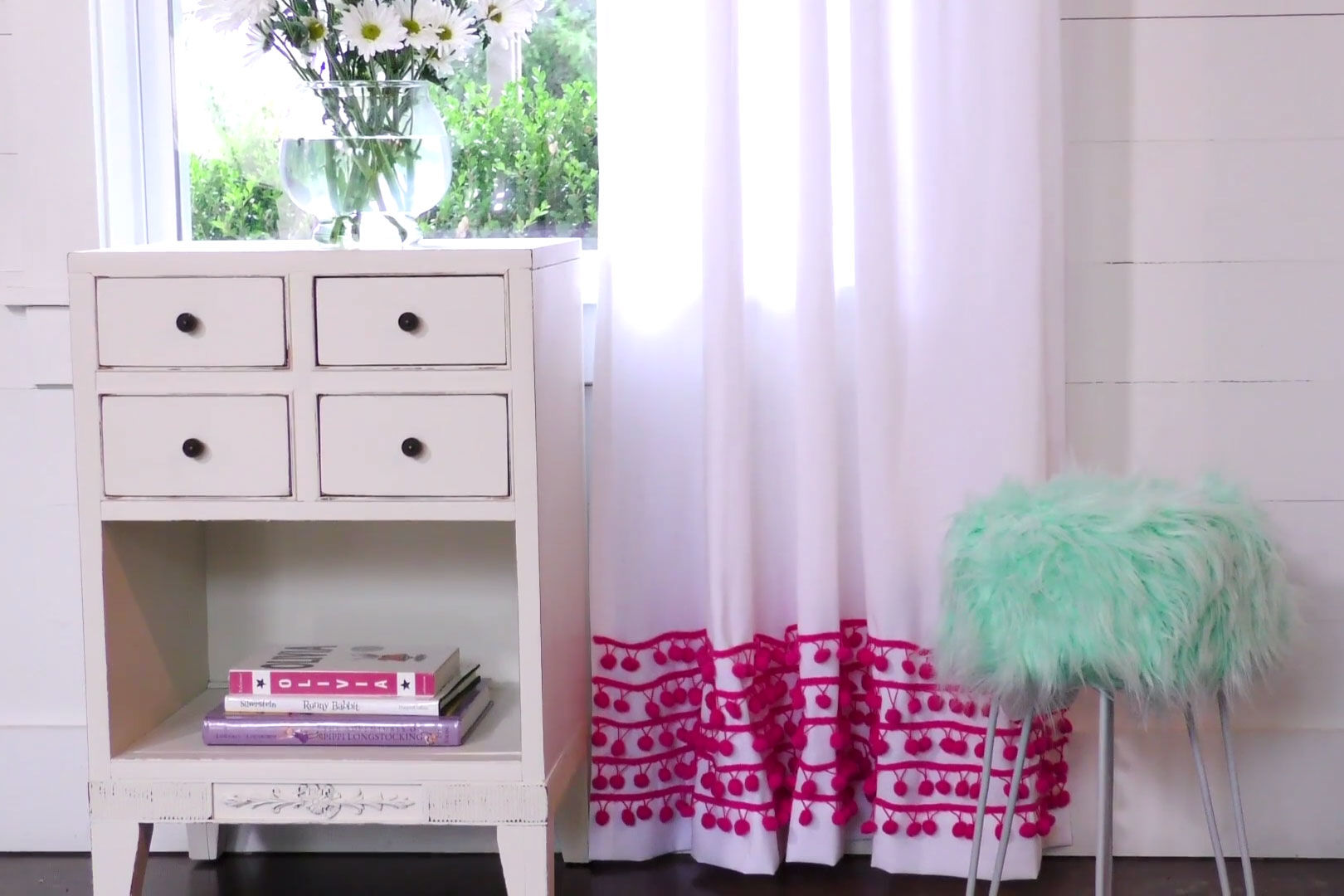WATCH: Easy Ways To Update Curtains