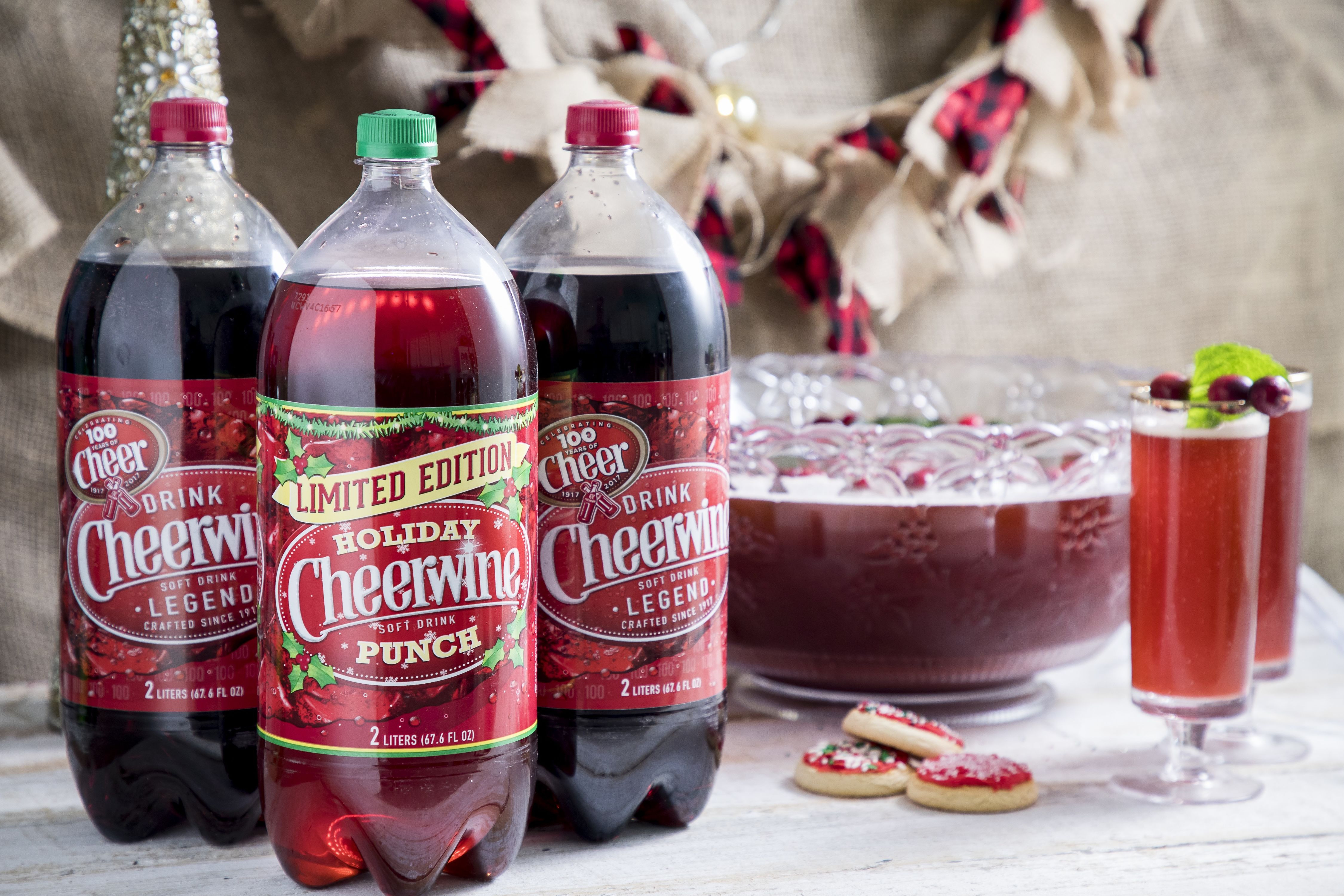 This Beloved Cheerwine Flavor Has Returned for the Holidays
