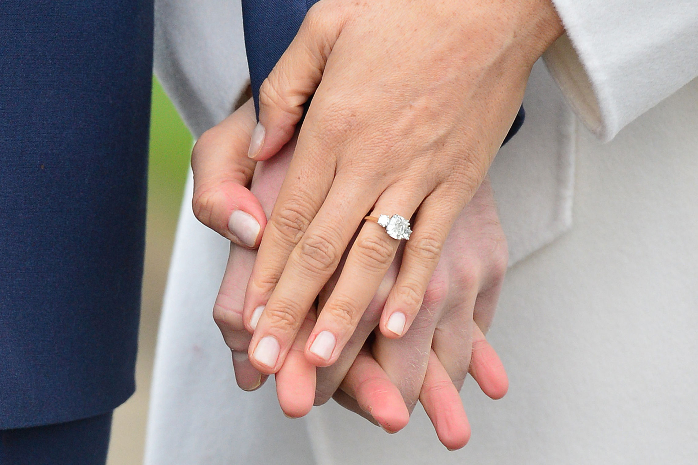 The Royal Collection Is Selling a Look-alike Meghan Markle Engagement Ring for Under $50