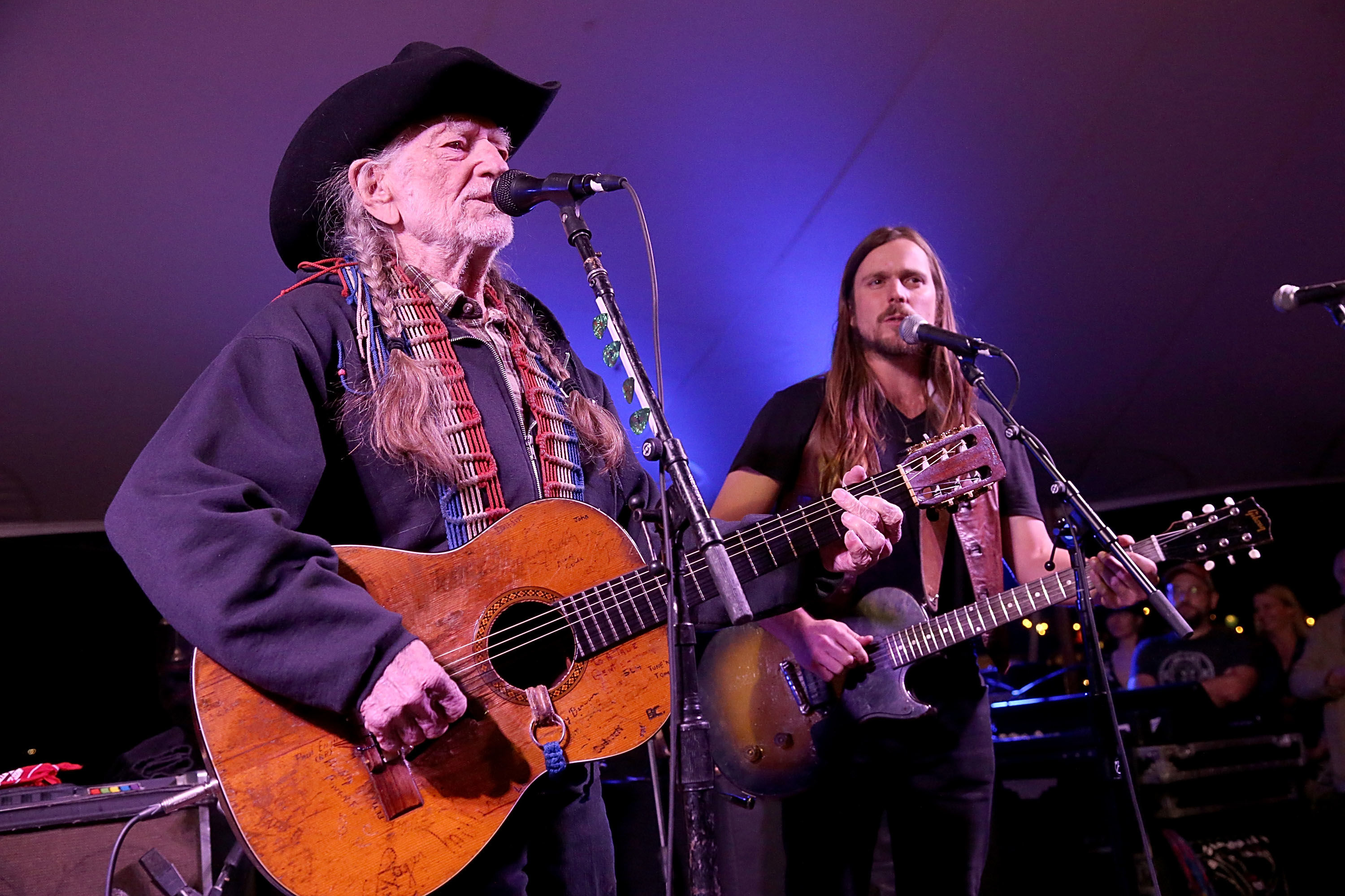 "Watch Willie Nelson's Son Perform ""Funny How Time Slips Away"""