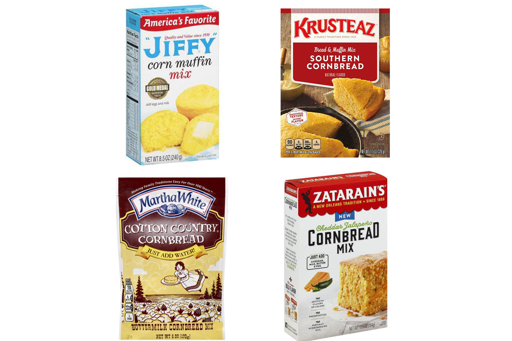 We Blind Taste-Tested 4 Boxed Cornbread Mixes, And This One Was The Winner By Far