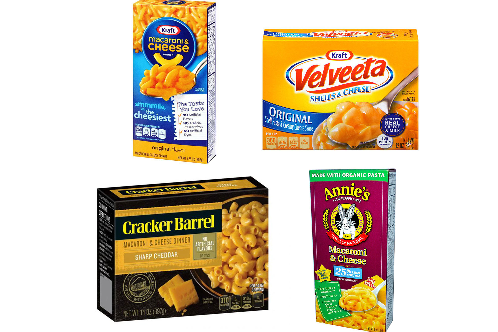 Our Editors Blind Taste-Tested Boxed Macaroni & Cheese and Finally Found the Best