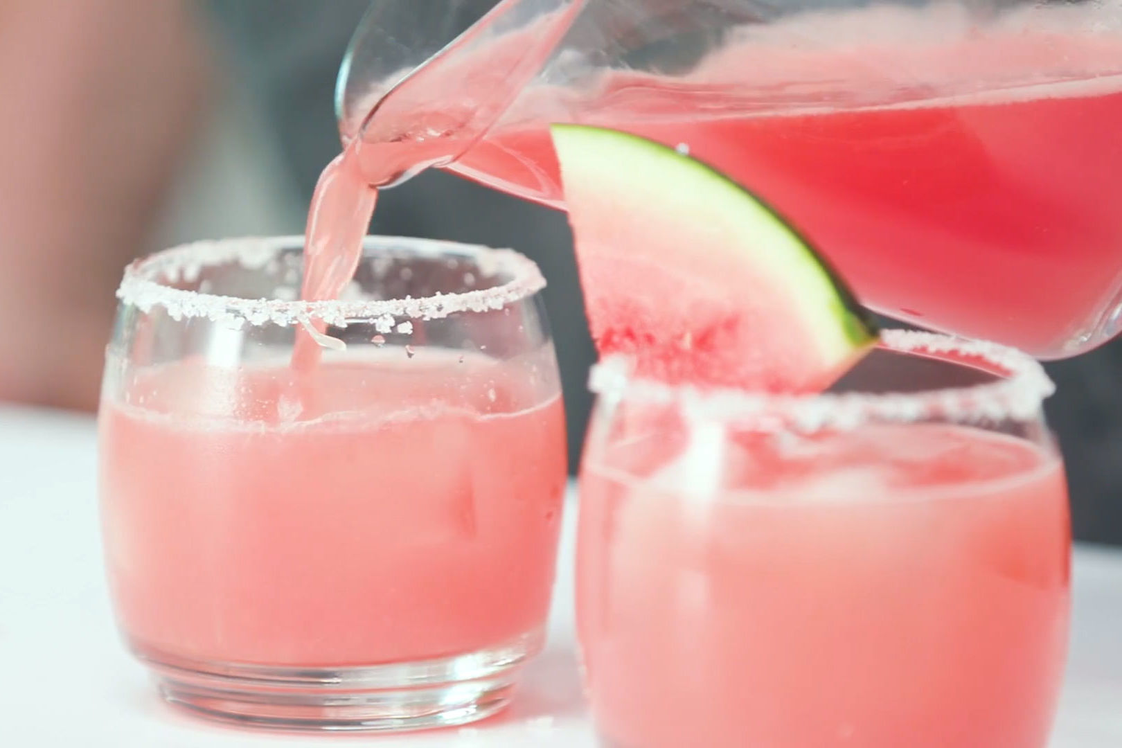 When Her Signature Color is Pink, Serve This Bridal Shower Cocktail
