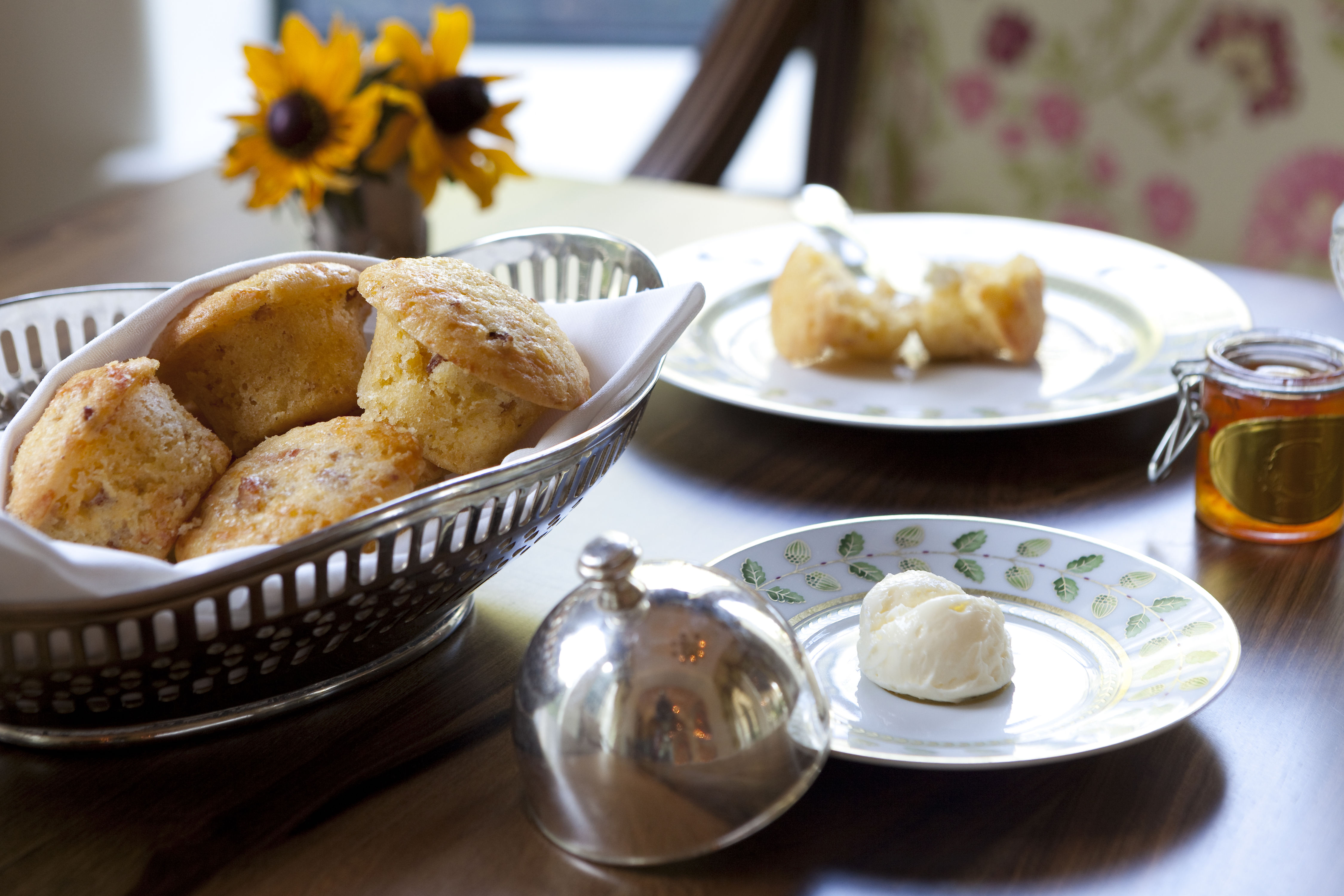 Make Sea Island Resort's Amazing Bacon-Cheddar Corn Muffins at Home