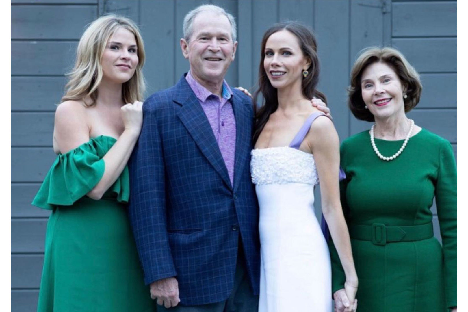 Jenna Bush Hager Shares Two More Family Photos from Barbara's Secret Maine Wedding