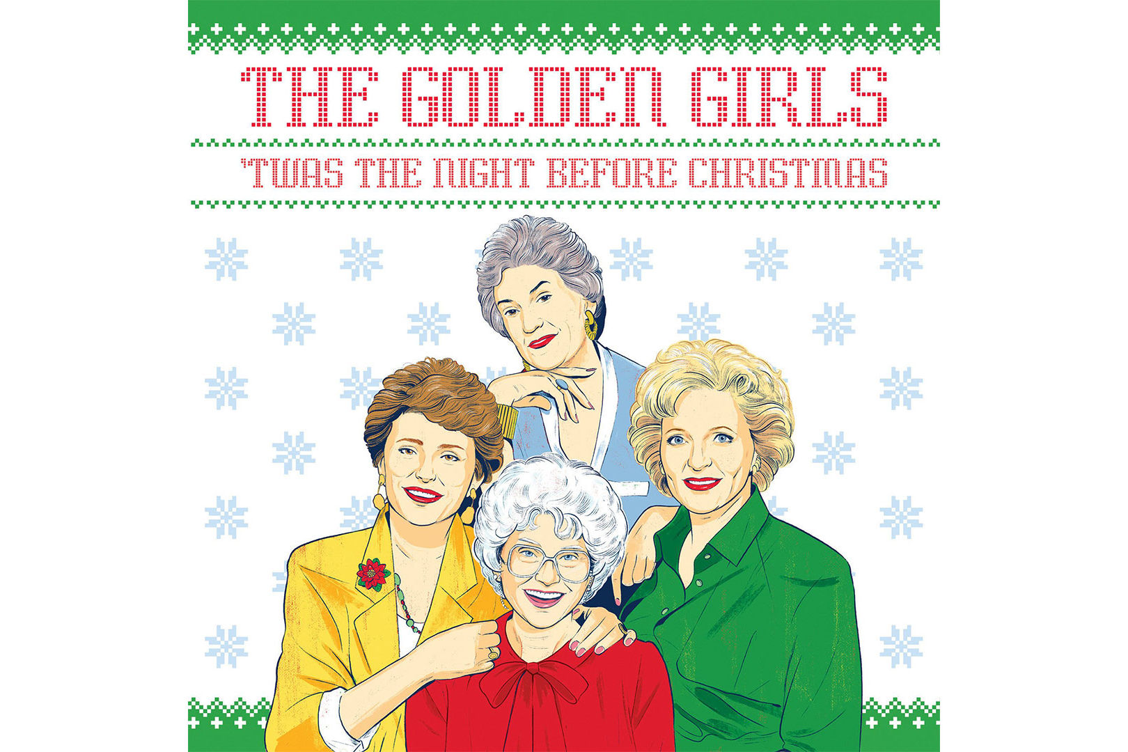Everyone on Our Shopping List Is Getting This Hilarious Golden Girls Christmas Book