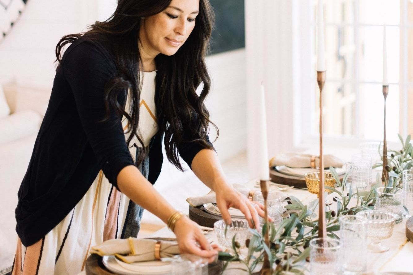 See Joanna Gaines' Stunning Thanksgiving Table Setting for 2018