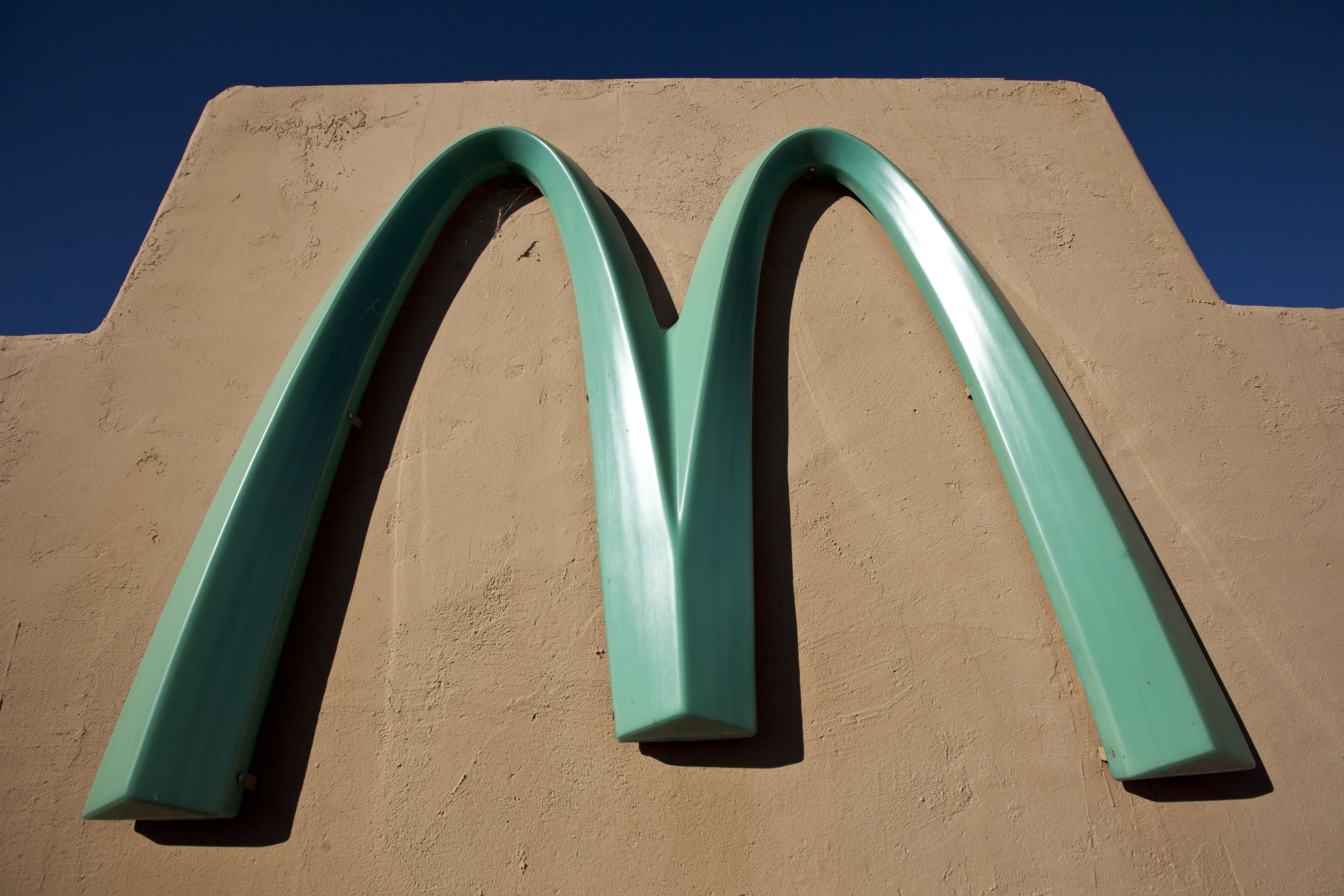 The Strange Reason This One McDonald's Has Turquoise Arches