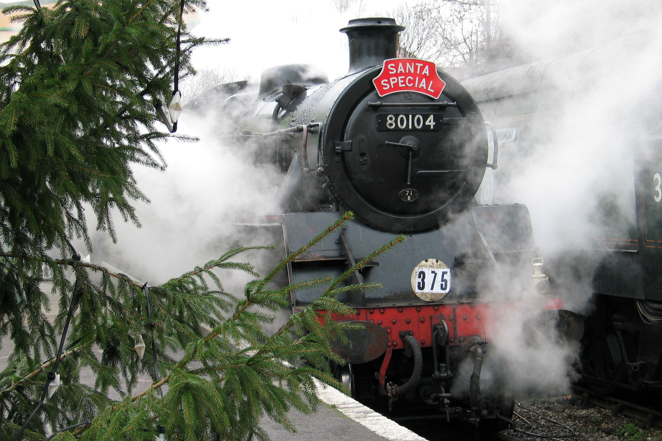This Magical Christmas Train Will Take You from Texas to Santa's Workshop