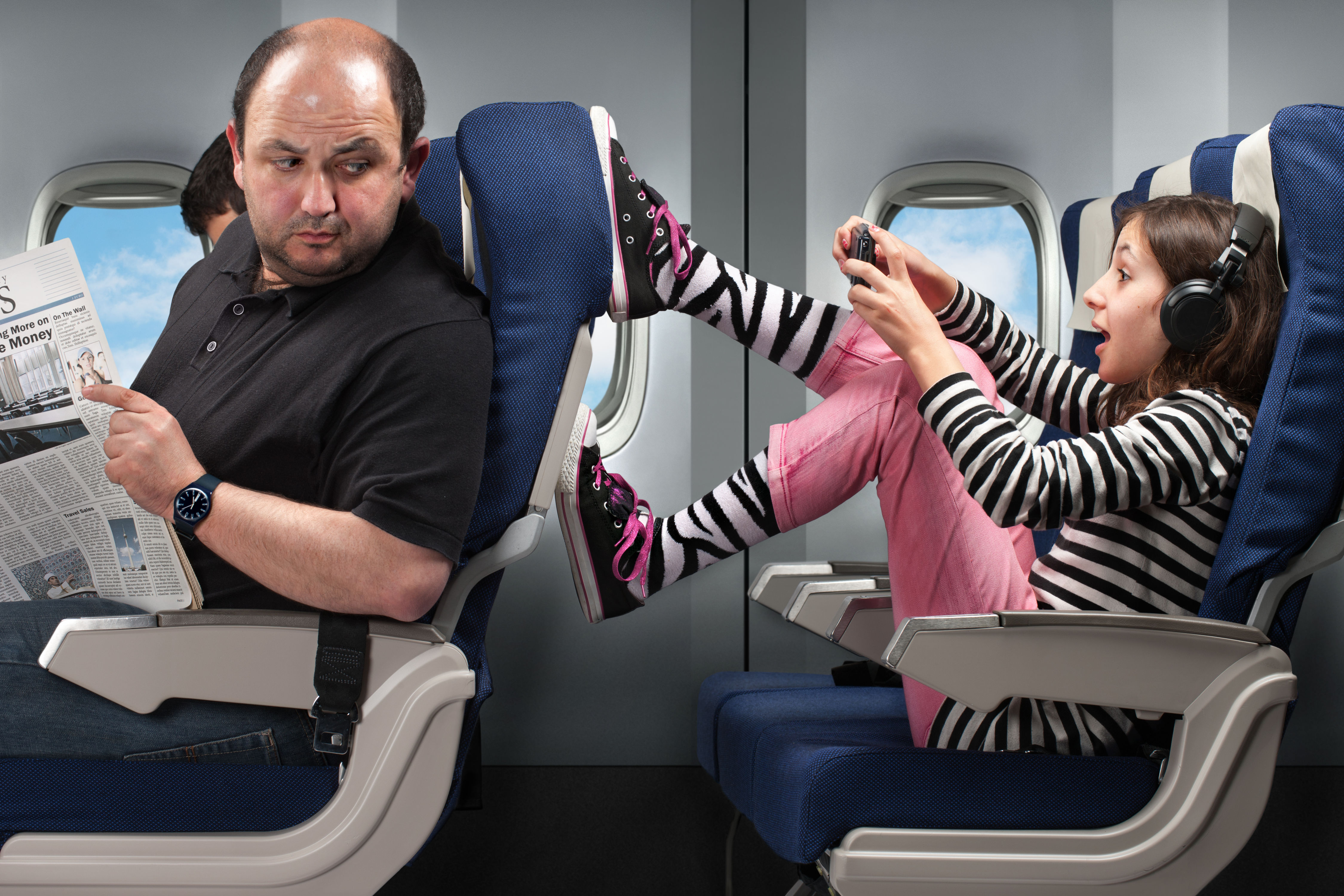 The 5 Rudest Things You Can Do on a Plane