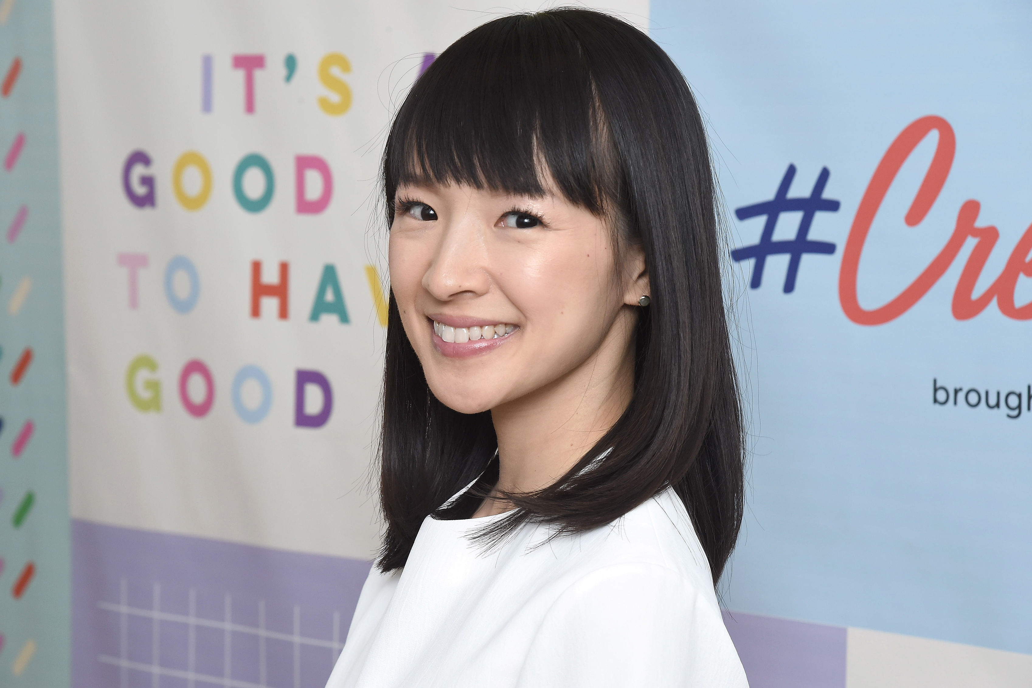 There's a Reason Marie Kondo Always Wears White Clothing