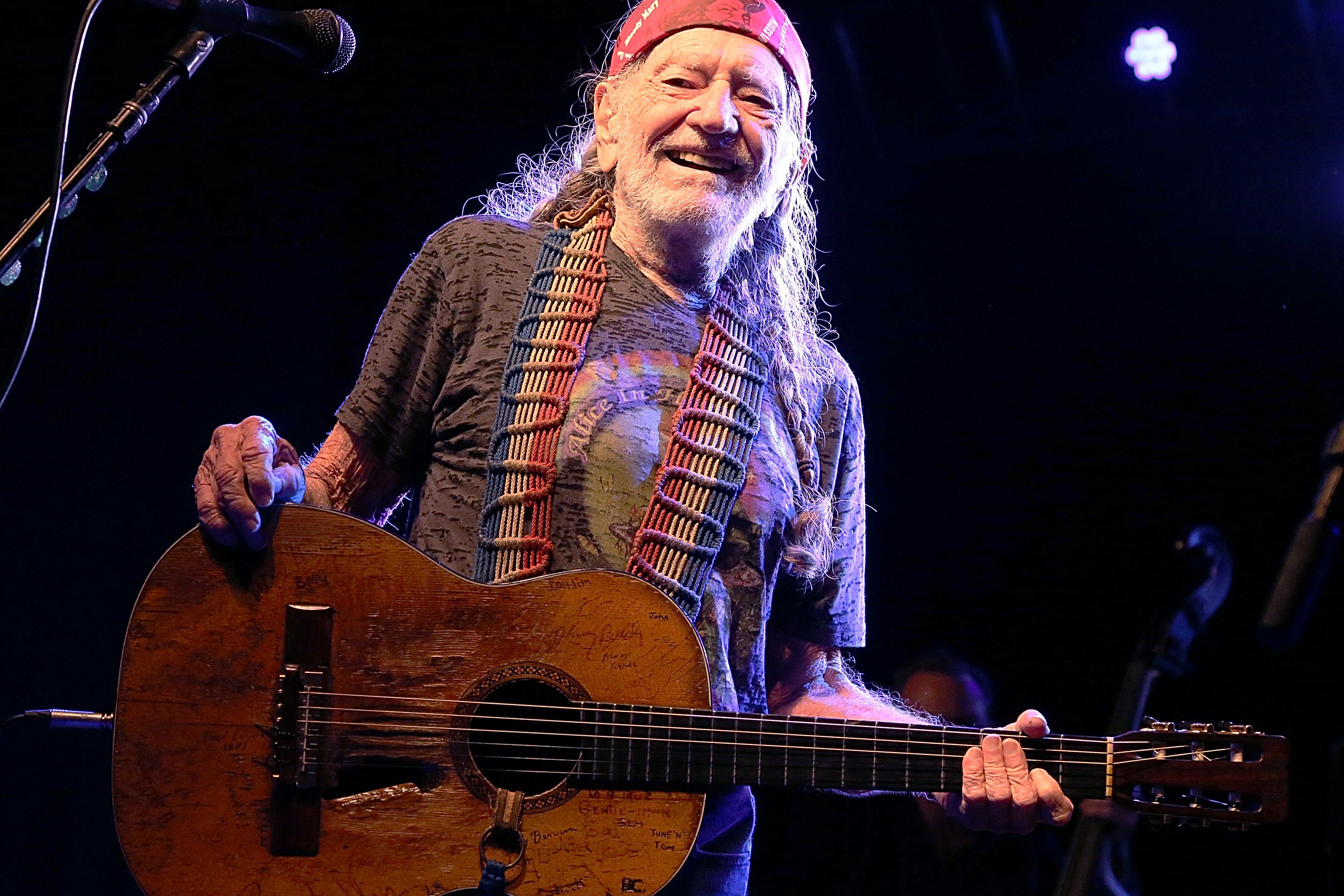 Willie Nelson Wrote 'On the Road Again' on an Airplane Barf Bag