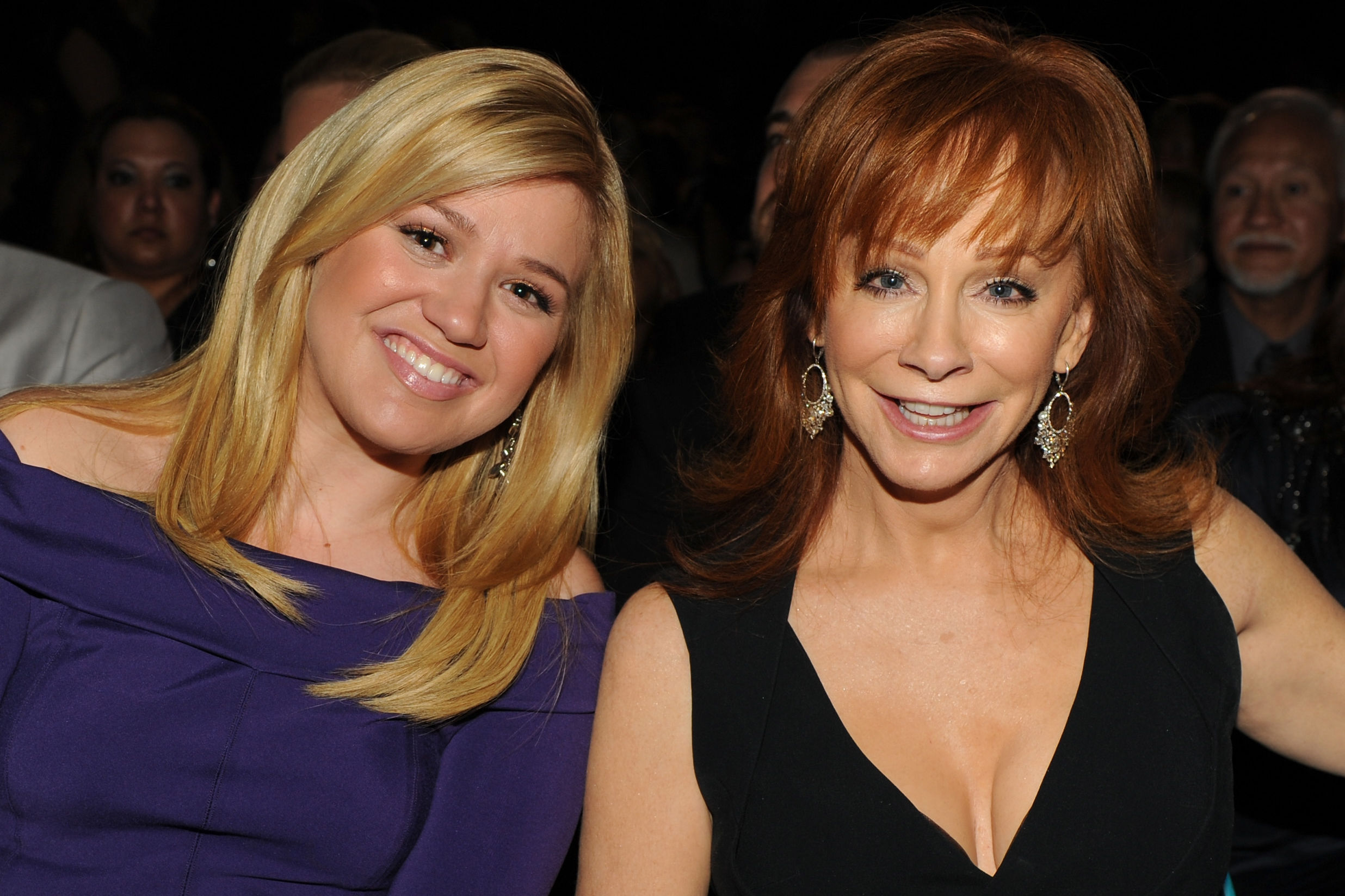 How Reba McEntire and Kelly Clarkson Met for the First Time