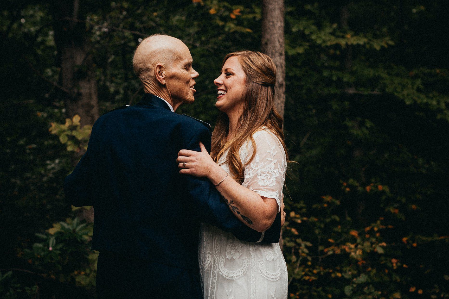 Bride-to-Be Exchanges Engagement Pictures for First Dance Photo Shoot with Dying Dad