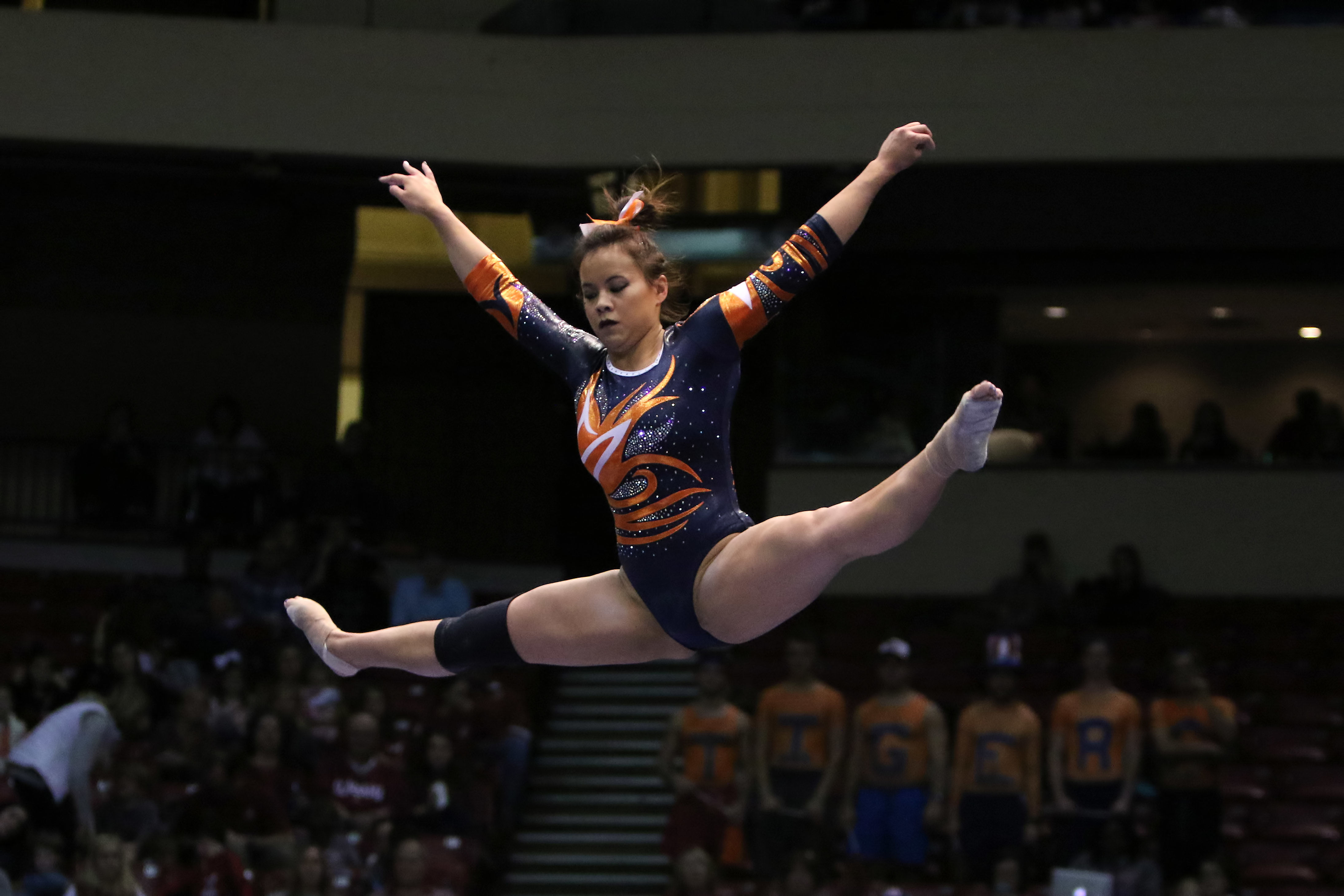 Auburn Gymnast Samantha Cerio Shows Resilience After Career-Ending Injury at NCAA Regionals