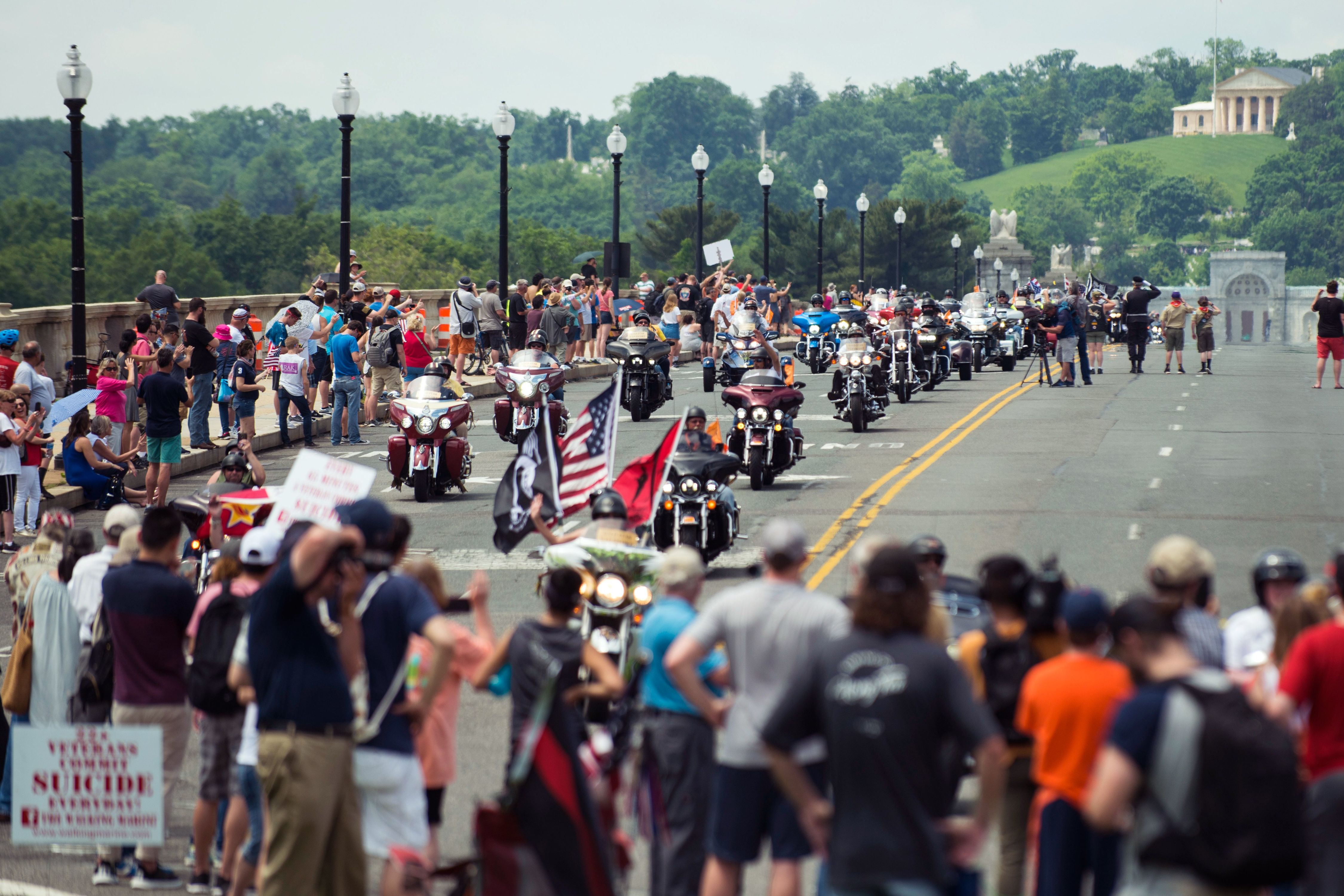 The Last Rolling Thunder 'Ride For Freedom' Memorial Day Rally Takes Place This Weekend