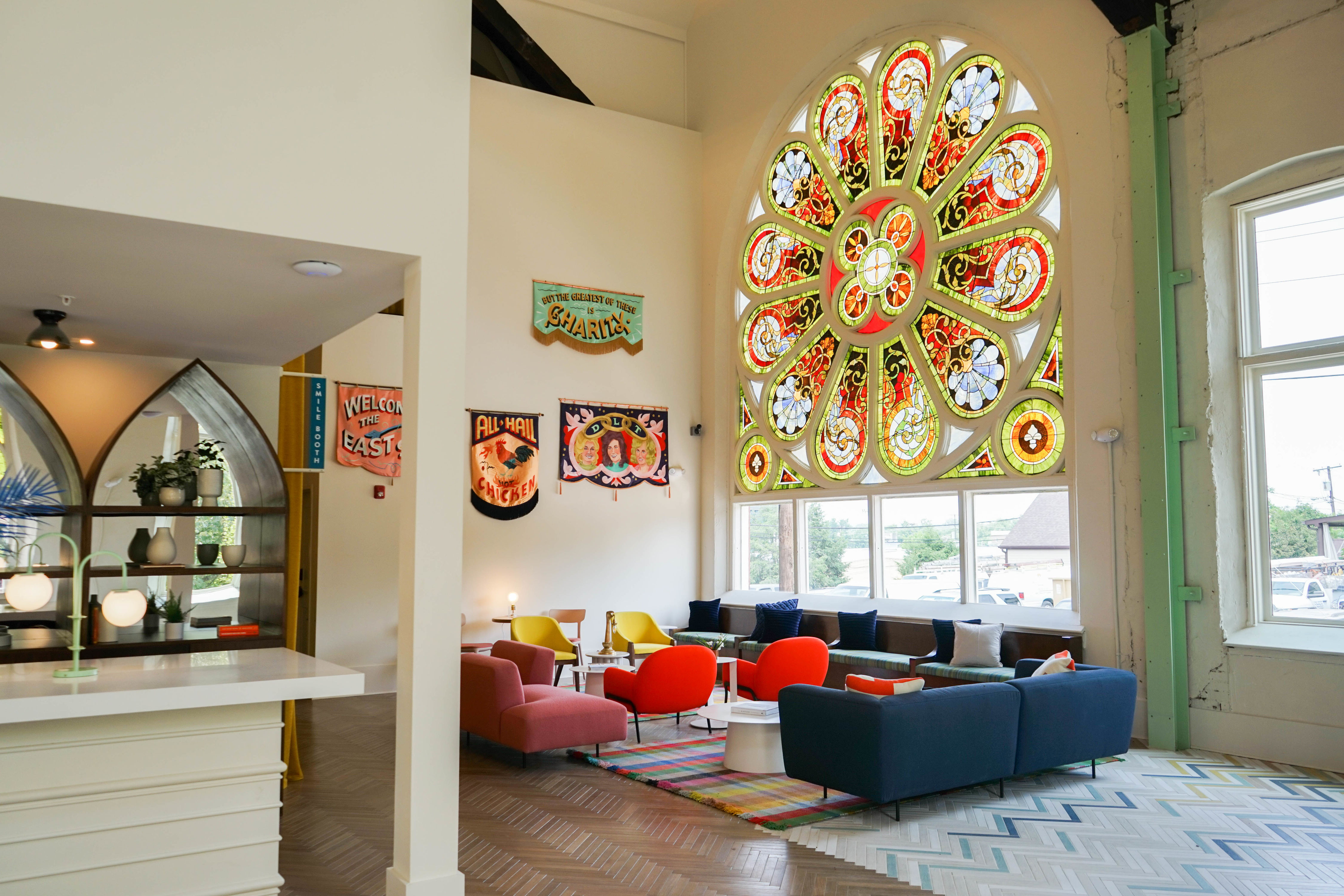 This 115-Year-Old East Nashville Church Just Reopened as a Boutique Hotel