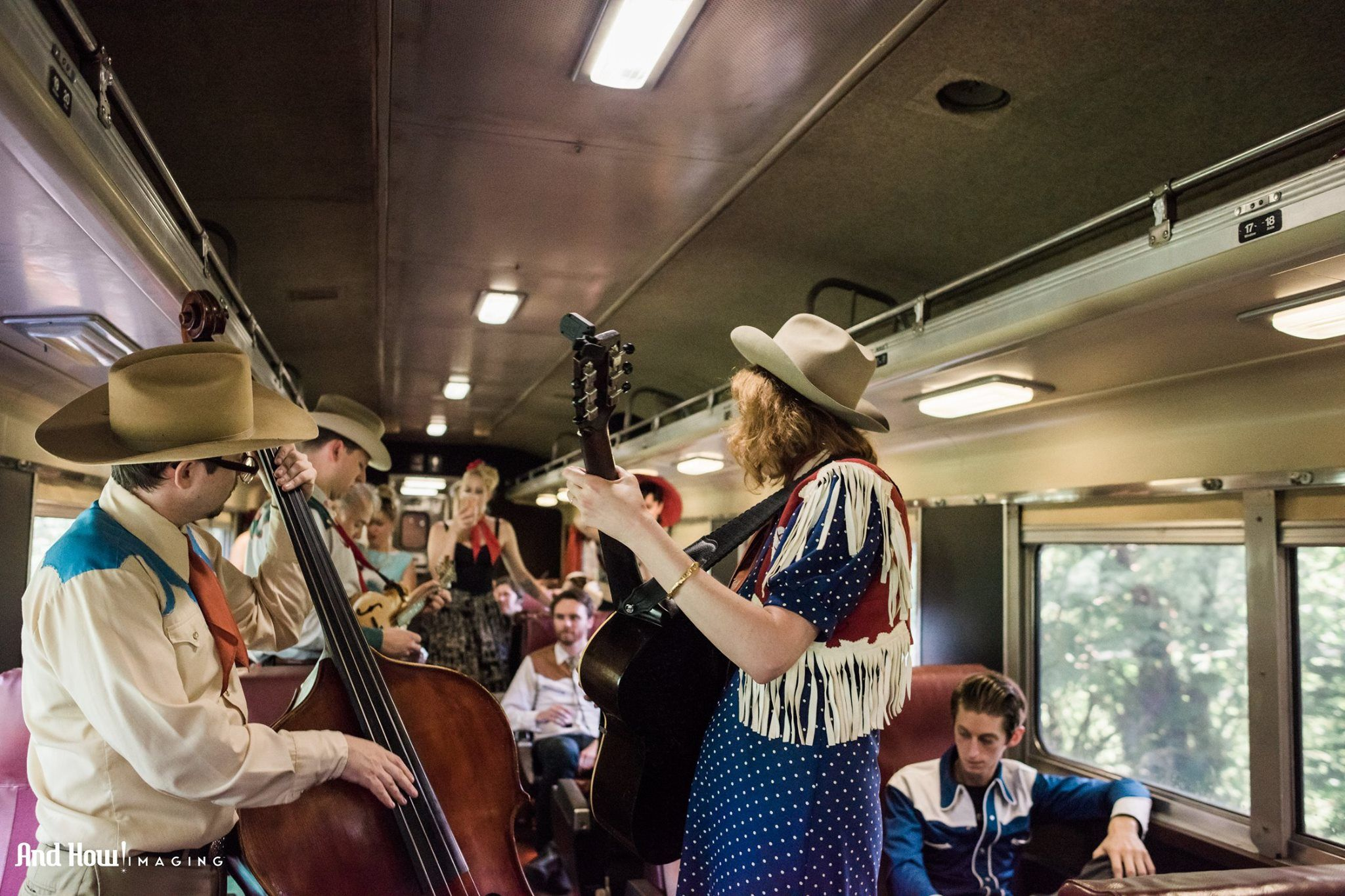 All Aboard: This Music Festival Takes Place on a Vintage 1950s Train